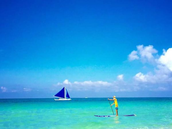 Back to the island of Boracay. Check This Out Amazing View Beach Life Sun Sand Taking Photos Places Travel Awesomeplaces