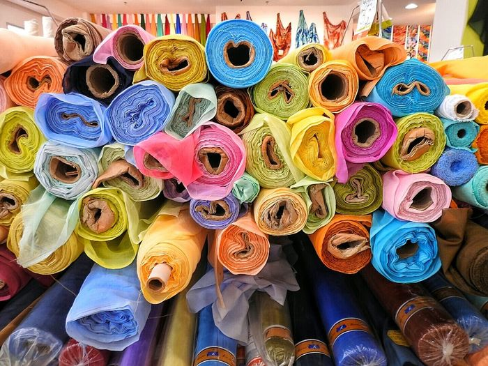 Rolls Of Fabric Fabric Fabric Shop Materials Textures & Tones Upholstery Rolled Shades Of Color Rolled Material Stacked Colors Cloth Circular Blue Colours Of The Rainbow Texture And Surfaces Thread Many Colours Lines, Colors & Textures Tones Of Colour Texture Passion Colours Rolled Cloth Loose Threads The 00 Mission
