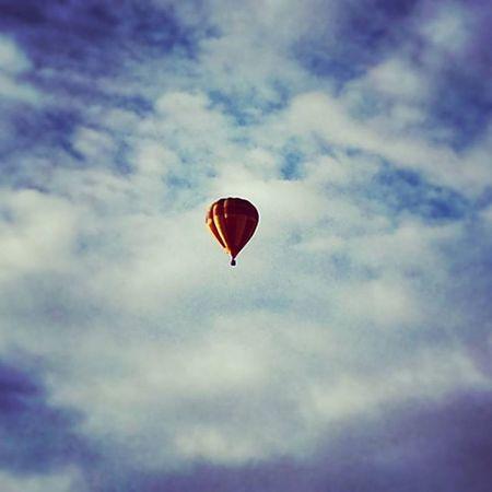 Baloon Blue Sky Clouds Northampton Northants