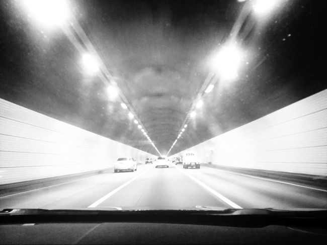 tunnel shot! driving and photography! Blackandwhite Photography Black And White Portrait Streetphoto_bw Tunnel