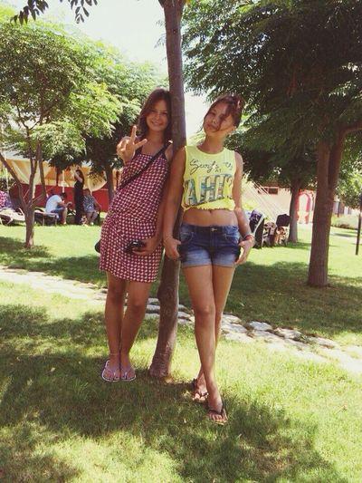 С Ангелинкой