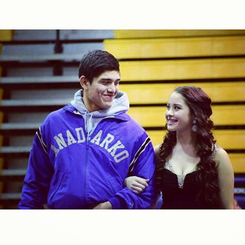 You know he was saying something crazy with that smirk on his face. 😂 Homecoming2015