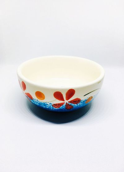 Thai bowl Bowl Thai Craft Art Craft Ceramic Art Craft Ceramic Art Ceramic Ceramics Ceramics EyeEm Selects Art And Craft No People Studio Shot Indoors  Bowl Close-up White Background