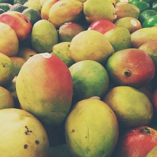 Mangoes Fresh Produce Organic Food Grocery Shopping Fruit