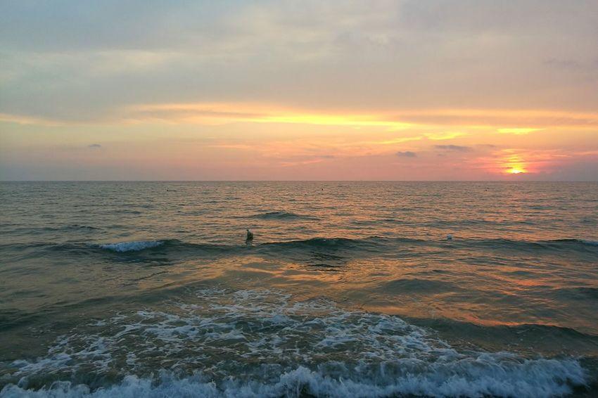 Illuminism Sea Horizon Over Water Water Beauty In Nature Nature Sky Sun Seascape