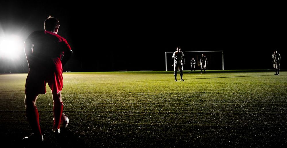 Football Fever at Night pt 4 // Getting Ready for Attack // Soccer Spotlight // In The Dark