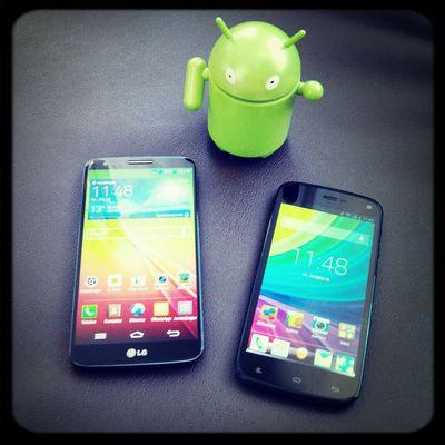 LG G2 vs Allview V1 Viper LGG2 AllviewV1Viper Android