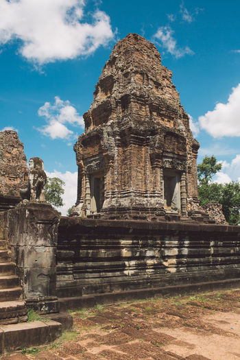 Siem Reap Cambodia Angkor Place Of Worship Religion The Past History Ancient Belief Architecture Spirituality Built Structure Sky Travel Travel Destinations Cloud - Sky Ancient Civilization Tourism Day Old Old Ruin No People Outdoors Archaeology Ruined