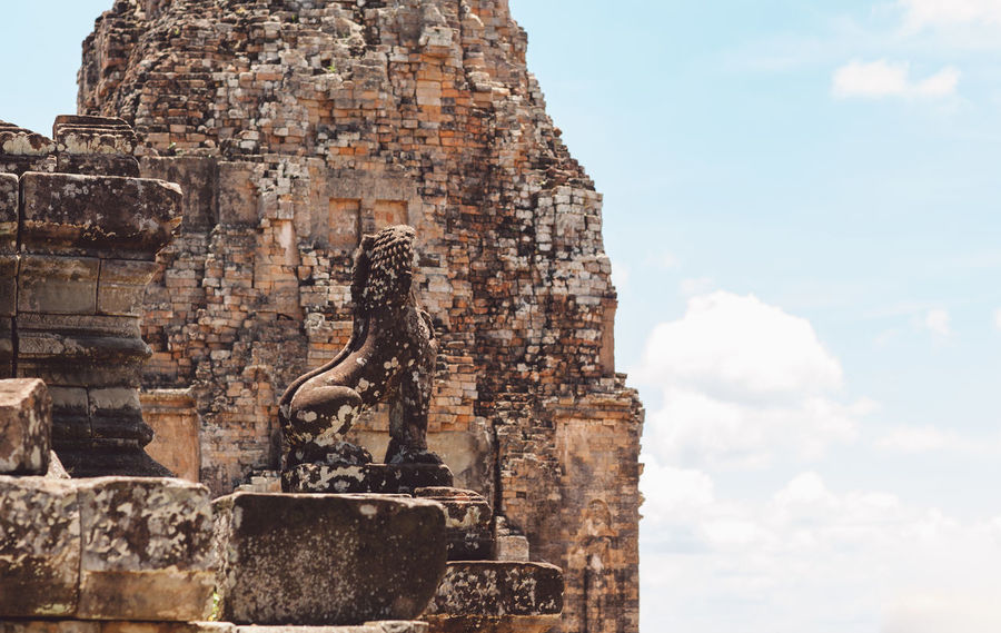 Siem Reap Cambodia Angkor Architecture Religion History Belief Built Structure The Past Place Of Worship Spirituality Travel Destinations Representation Art And Craft Sky Sculpture Travel Craft Tourism No People Ancient Day Ancient Civilization Outdoors Ornate