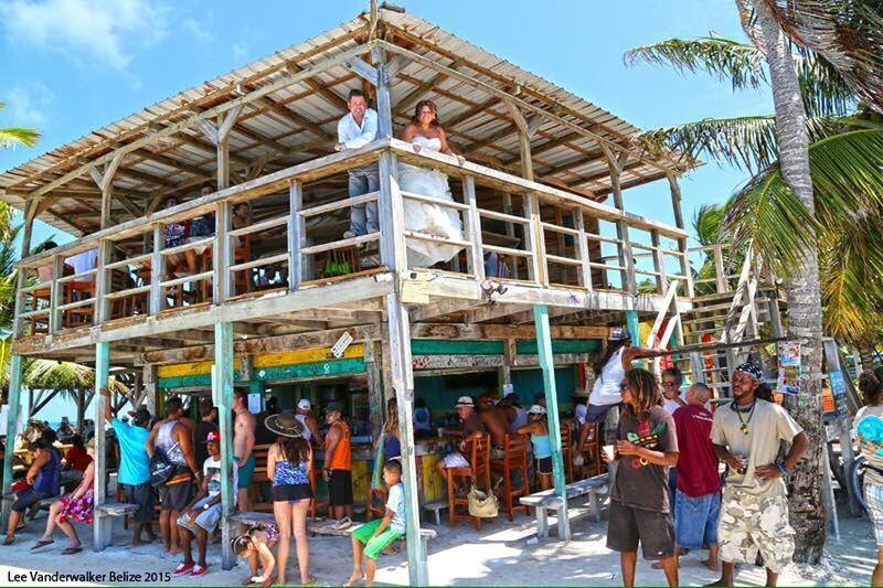 Wedding That's Me Beach Bar Caribbean