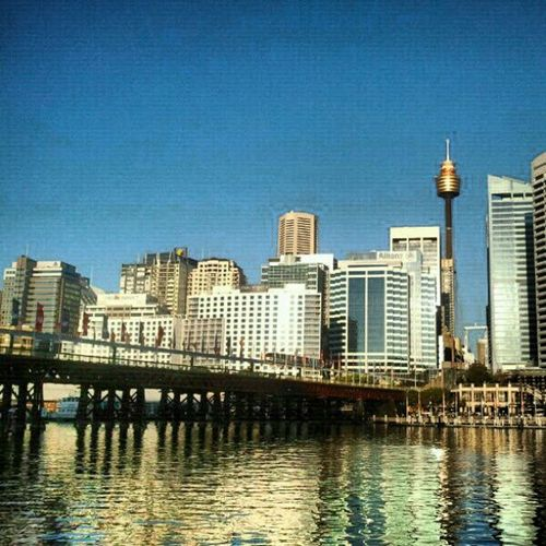Skyline Seeaustralia Sydneylocal Sydney reflection instagramsydney instagood