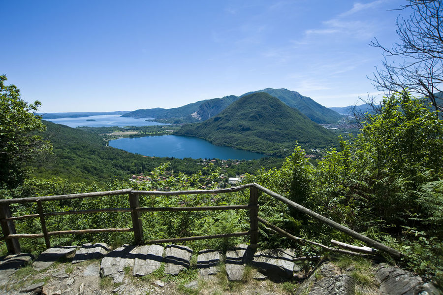 Beauty In Nature Hiking Lago D'Orta Lago Maggiore Lake Landscape Mergozzo Montorfano Mountain Mountain Range Nature No People Outdoors Scenics Sky Tranquil Scene Tranquility Trekking Varesetheplacetobe