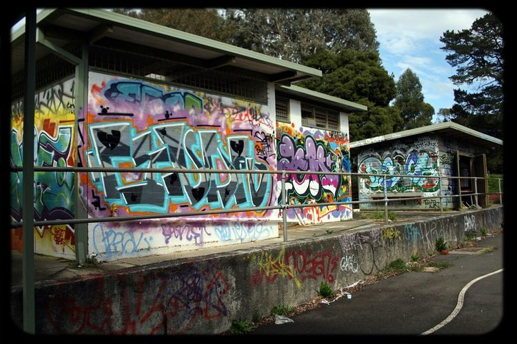 Abandoned Places School Where I Shouldnt Be Graffiti