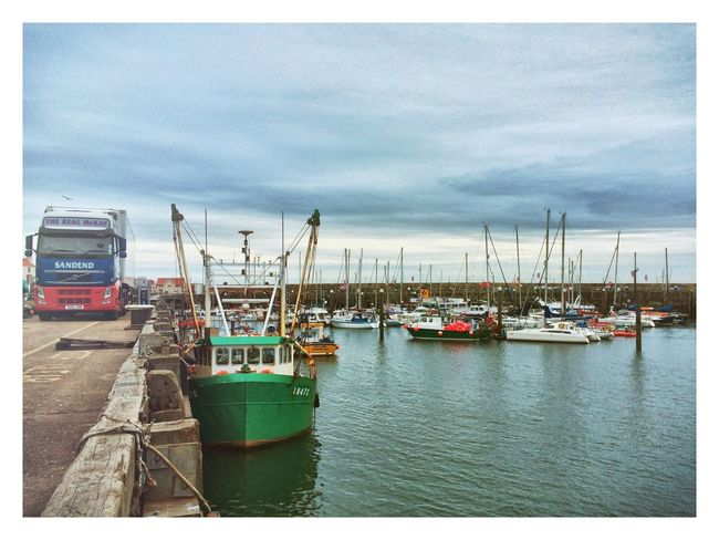 Fishing Boats Scarborough IPhone IPhoneography Boats Fishing Boat Fishing Trawler Harbour Enlight