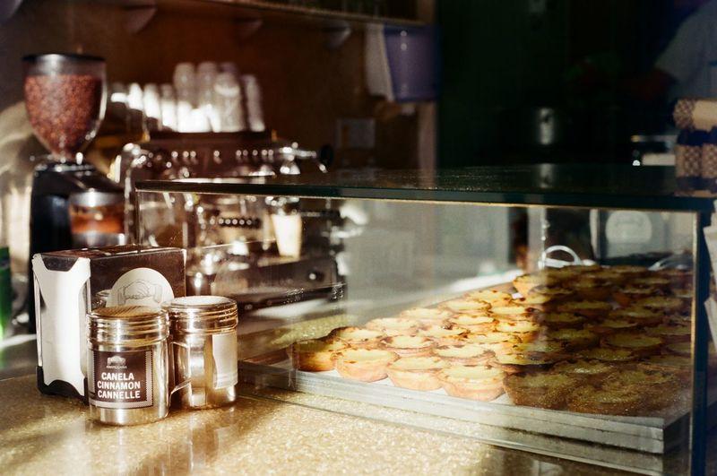 Food in kitchen at restaurant