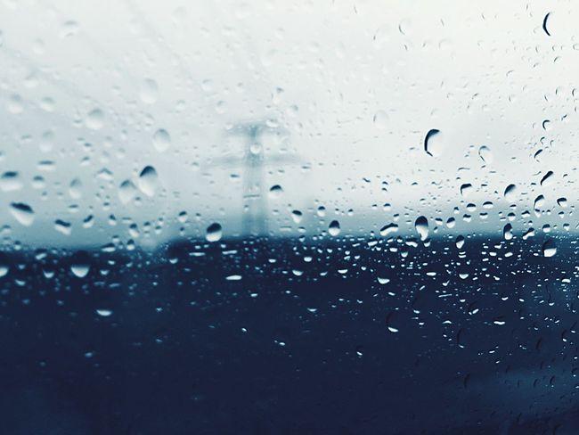 Drop Gouttes Wet No People Backgrounds RainDrop Close-up Stonegraphix Freshness Pluie Window Water Flou Blurred Motion Blur