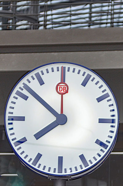 Accuracy Circle Clock Clock Face Close-up Day Focus On Foreground Geometric Shape Information Information Sign Mainstation No People Number Road Sign Station Clock Time