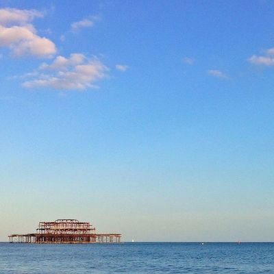 Brighton's West #Pier #beach ??☀️⛅️???☀️ Mashpics Top_masters Beach From_city Pro_shooters Secretlandscapes Pier Barbourwildbritain Alan_in_brighton Gang_family Insta_brighton Allshots_ Igers_brighton Gf_uk Gi_uk Ig_england Aauk Ic_cities_brighton Capture_today Loveyoursummer