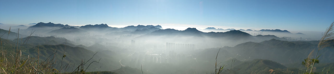 Cloud sea from Needle Hill, Hong Kong Cloud Sea CLOUDSEA Cloud Sea (雲海) Needle Hill Tree Mountain Fog Morning Beauty Forest Sky Landscape Majestic