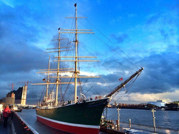 Hamburg Ship Sea