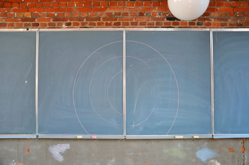 Chalkboard On Wall