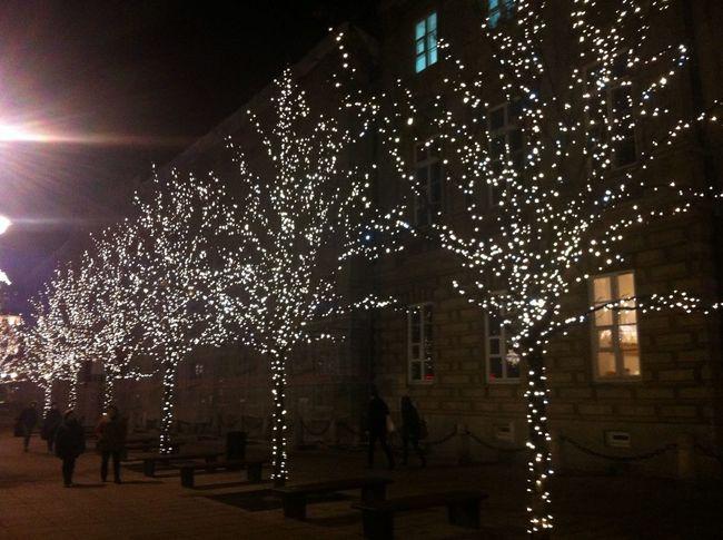 Weihnachtliches Warschau