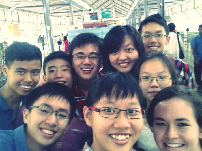 Spent an awesome day with eXco. :) 9 awesome people in one photo is hard to come by x) EXco