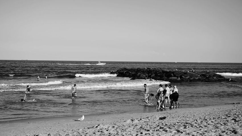 Beach days at the Jersey Shore Blackandwhite Blackandwhite Photography Beach Photography Beach Life Seascape Outdoor Photography Waves And Rocks EyeEm Best Shots - Black + White Nature Photography Sand & Sea Summer Live In The Moment Relaxing I LOVE PHOTOGRAPHY