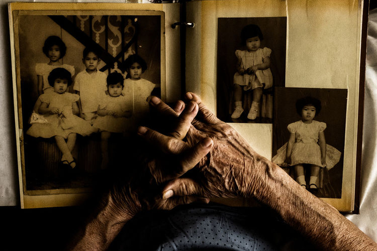 Contemplation Human Hand Human Representation Old Woman Real People Remembering Social Issues This Is Aging