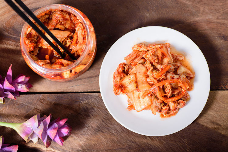 Korean food, Kimchi cabbage Cuisine Homemade Food Kimchi Korean Food Asian Food Bowl Cabbage Close-up Day Eating Healthy Fermentation Food Food And Drink Freshness Gourmet Healthy Eating High Angle View Indoors  No People Pickle Plate Ready-to-eat Table Top View Of Food
