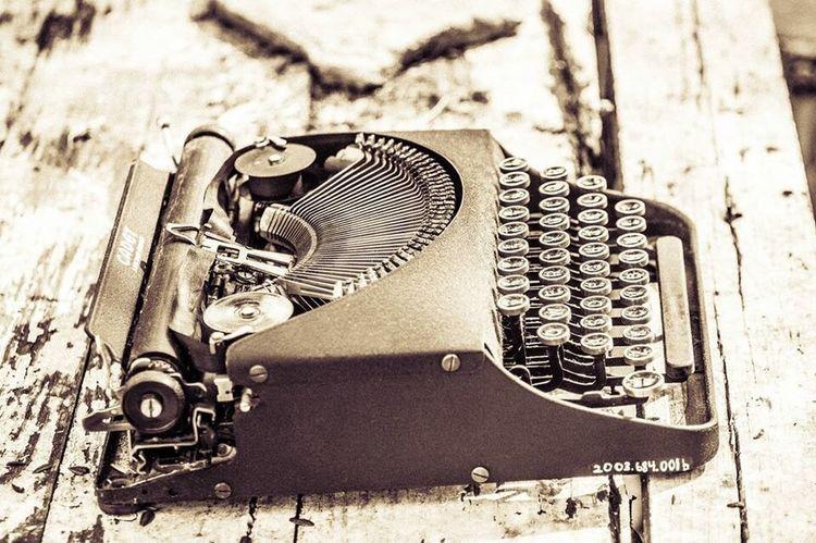 Steampunk Typewriter