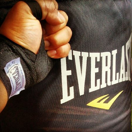 """I got this! """"Pain is weakness leaving the body!"""" Punchbag Workout"""