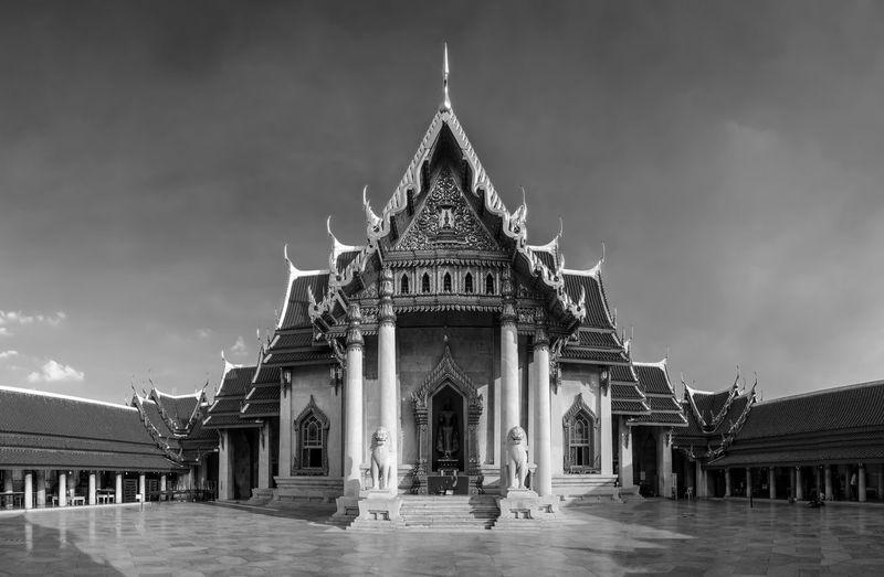 Wat benchamabophit @ Bangkok, Thailand. Architecture Cultures Temple Thailand Watbenchamabophit