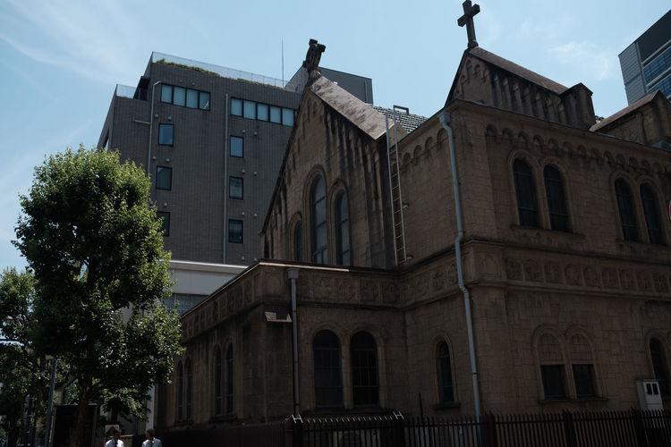 Church Cityscape FUJIFILM X-T2 Japan Japan Photography Tokyo Fujifilm Fujifilm_xseries X-t2 教会 東京 神保町 神田 神田教会