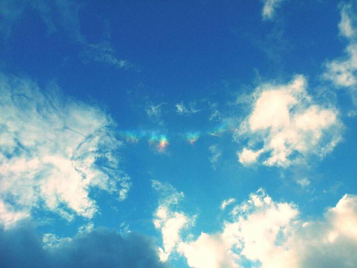 Art Sky Rainbow Sun Dog Enjoying Life Clouds And Sky Photography TheMinimals (less Edit Juxt Photography) Skyporn Sun_collection