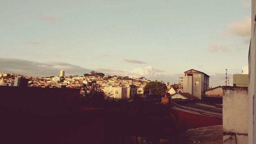 Fim de tarde no Bonfim visto do Carlos Prates, BH. First Eyeem Photo