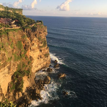 The City Light Sea Cliff Rock - Object Rock Formation Beauty In Nature Horizon Over Water Nature Scenics Geology Tranquility Water Outdoors No People Sky Day Bali EyeEm Gallery EyeEmNewHere Iphone6 Welcom Weekly EyeEm Best Shots Lifestyles EyeEm Nature Lover Advent