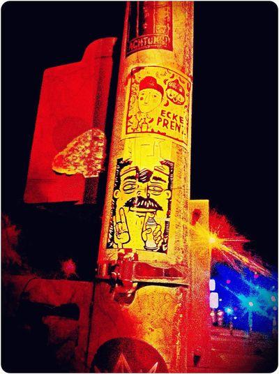 Stickerart , Danziger Strasse / Prenzlauer Allee   ‼️ Ecke Prenz ‼️