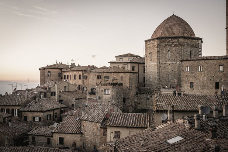 Italia Sunset_collection Toscana Tourist Tourist Attraction  Tuscany Tuscany Countryside Twilight Architecture Building Exterior Built Structure City Day History Italy Medieval No People Outdoors Sky Sunset Tourism Tourist Destination Town Travel Destinations Tuscany Italy