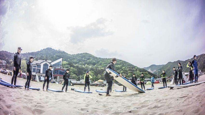 입문이다!! Surfing Start At The Beach Funny