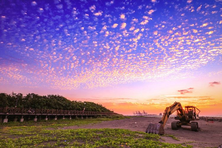 昨日天空文☁☁☁ Sunset Sky Clouds And Sky Sky And Clouds Sunset_collection Landscape EyeEm Taiwan The View And The Spirit Of Taiwan 台灣景 台灣情 八里 挖仔尾
