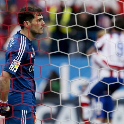 Iker Casillas RealMadridfan Realmadrid Halamadrid Vicente Calderon IkerCasillas Madridista