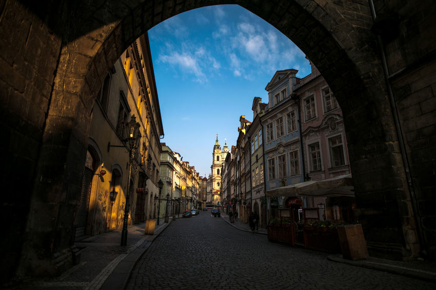 Charles Bridge Czech Republic Praha The Journey Is The Destination The Week on EyeEm Travel Arch Architecture Building Exterior Built Structure Canonphotography City Day Europe Light And Shadow No People Outdoors Sky The Way Forward Travel Destinations