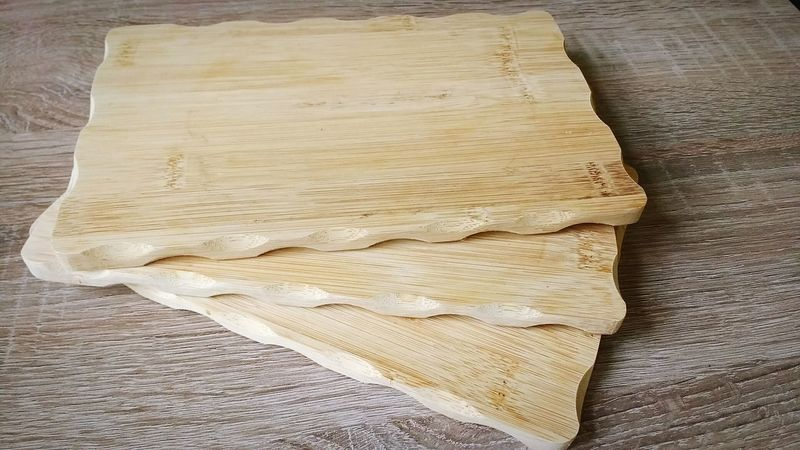 Wooden small boards Slats Slat Wooden Boards Kitchen Breakfast Eating Table Tools Accessoires Textured  Close-up Wood - Material No People Pattern Wood Grain Backgrounds Crumpled Day