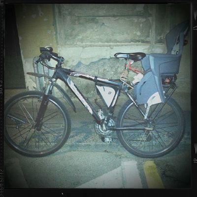 My bike in the night (child version)