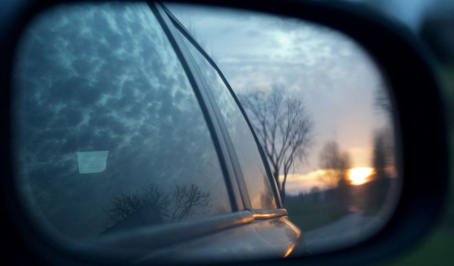 Car Car Interior Check This Out Close-up Cloud - Sky Day Glass - Material Land Vehicle Mode Of Transport Nature No People Outdoors Side-view Mirror Sky Sunset Taking Photos Transparent Transportation Tree Vehicle Interior Water Window