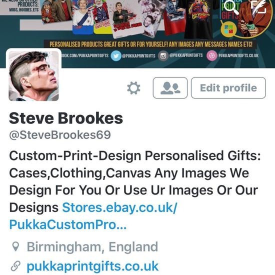 #Follow my personal account pls guys.... @SteveBrookes69 Twitter