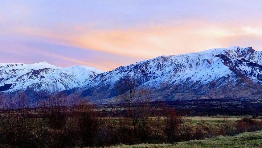 The perfect time :) ALBANIA❤️ Erseka Gramozi Mountain Mountain Range Snow Beauty In Nature Scenics Nature Winter Landscape Rural Scene Sunset Snowcapped Mountain