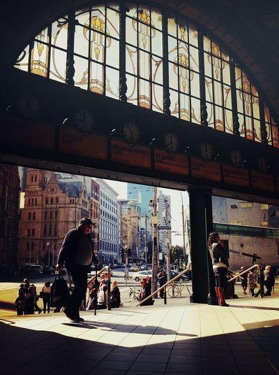 Flinders St Station #Melbourne #Streetphotography