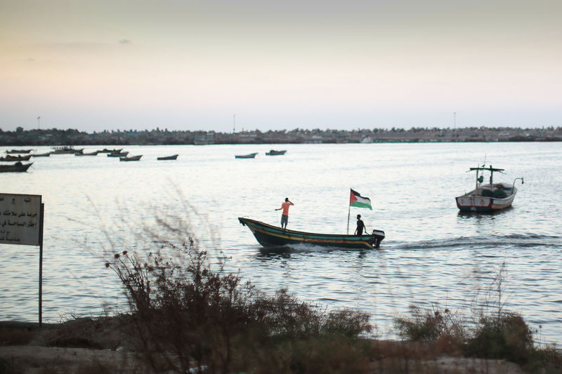 Blockade Flag Gaza Gaza-Palestine Israel Middle East Nautical Vessel Palestine Transportation War The Photojournalist - 2018 EyeEm Awards